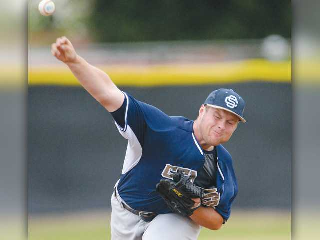 Caden Maher, Saugus baseball fights past Canyon