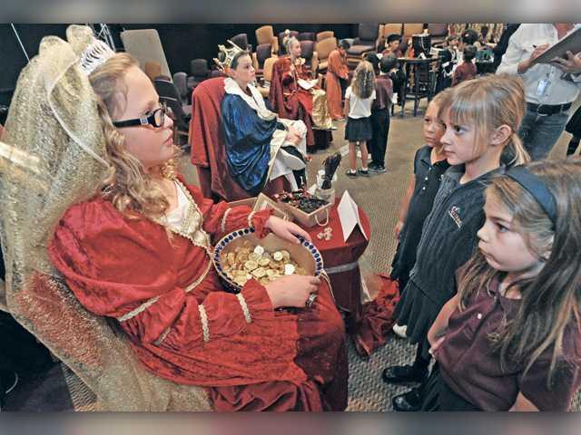 Trinity students re-live medieval, Renaissance times