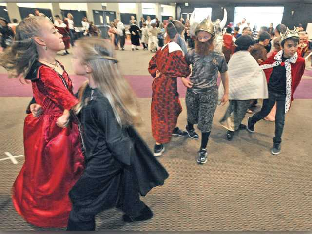 Trinity students re-live medieval, Renaissance times