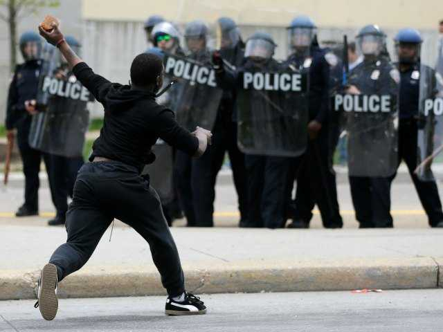 Rioting, looting in Baltimore