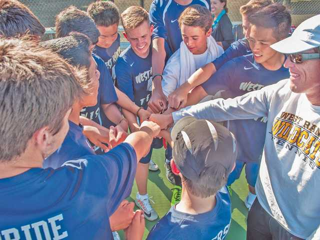 West Ranch boys tennis wins 2nd straight league title