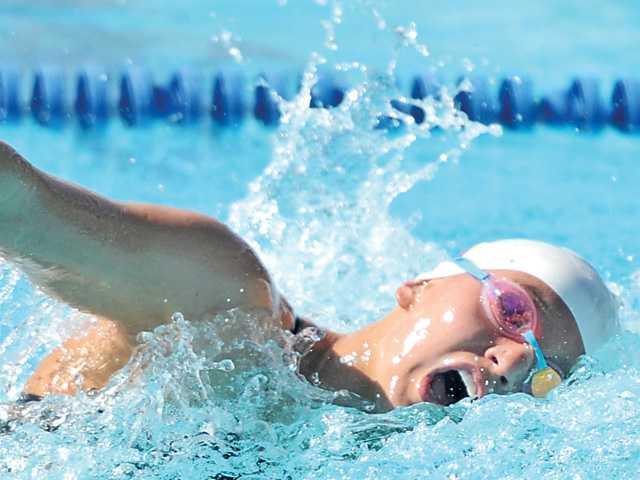 Vikings swim wins, but big step looms