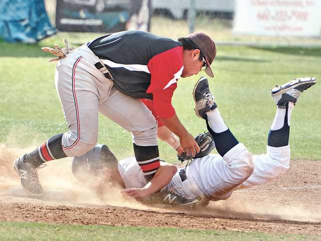 Hart baseball back in control of first place
