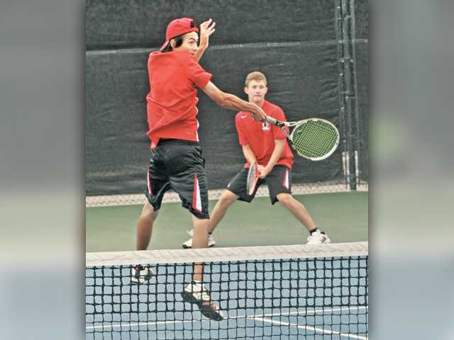 Foothill tennis prelims paving path for CIF