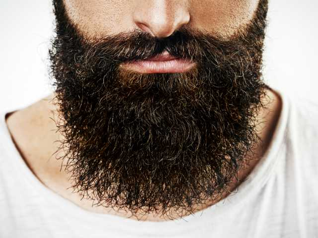 Beards: As dirty as a toilet seat?
