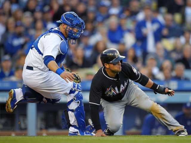 Dodgers' 5-game win streak ends in loss to Marlins