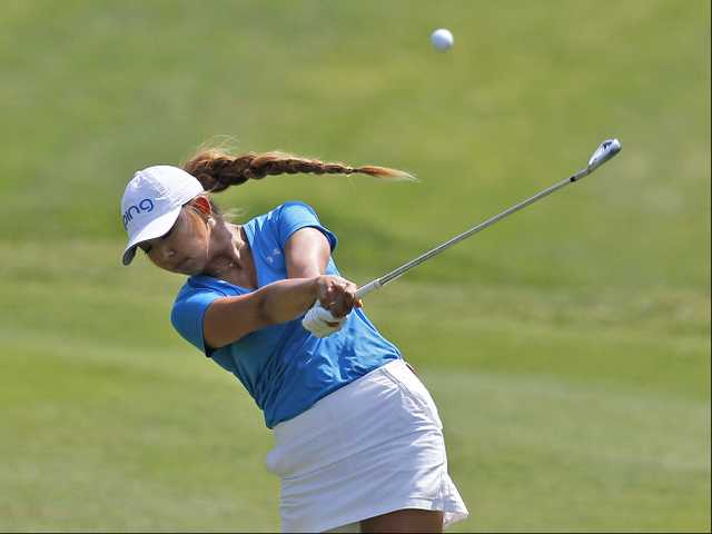 Valencia alum Alison Lee in contention at Kingsmill Championship