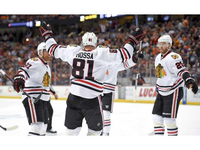 Ducks fall to Blackhawks in third OT of Game 2