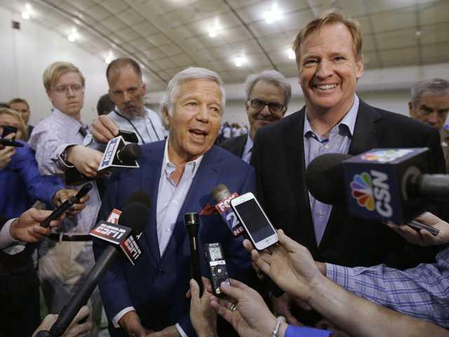 Patriots owner: Team won't appeal team's fine, draft penalties