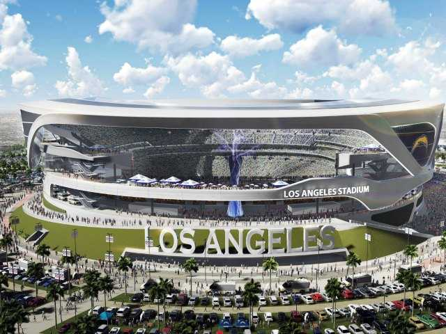 Land deal closes for planned NFL stadium near LA