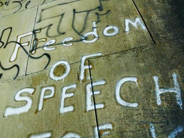 Free speech vs. hate speech