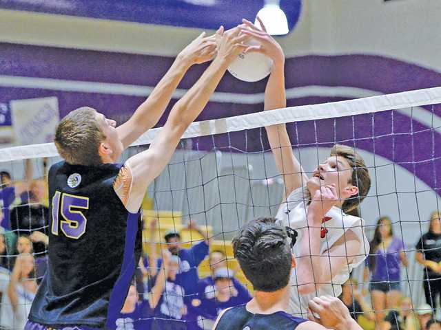 Valencia volleyball beats Burroughs to get back to CIF final