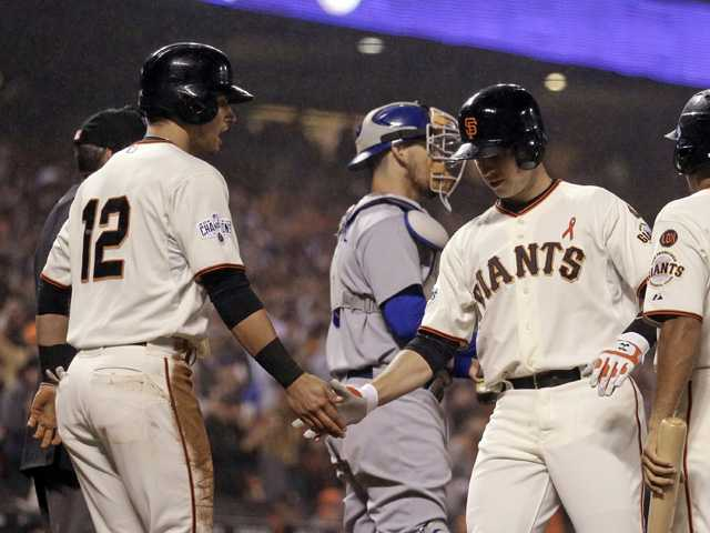 Giants shut out Dodgers for 2nd straight night