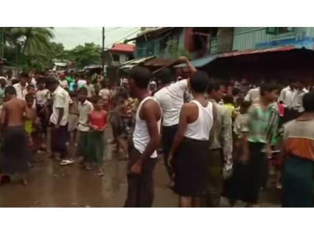 Muslim refugees risk life to flee Burma's persecution