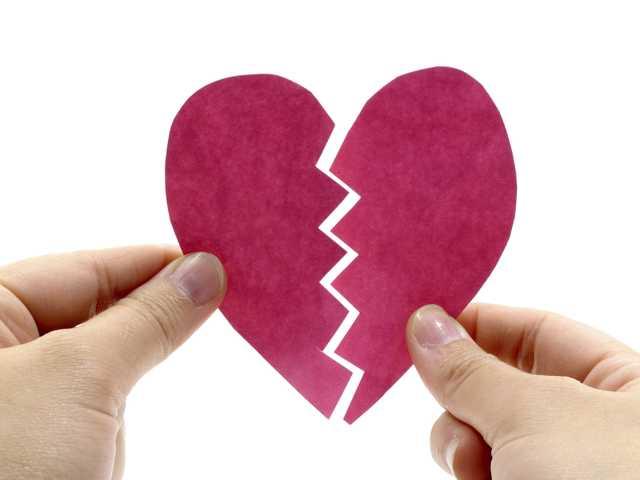 The 6 species of breakups