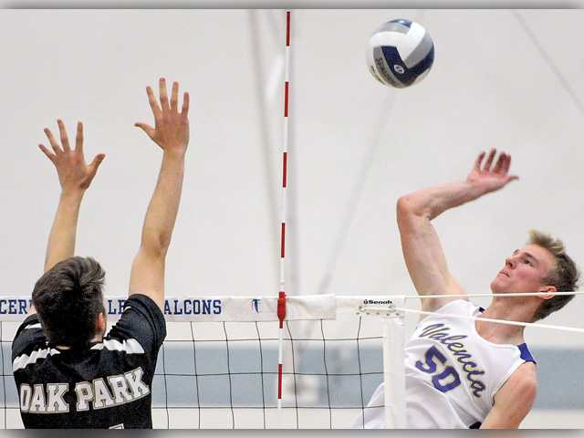 Valencia's Ensing named Foothill boys V-Ball POY