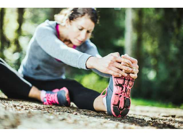 Running and parenting are not mutually exclusive