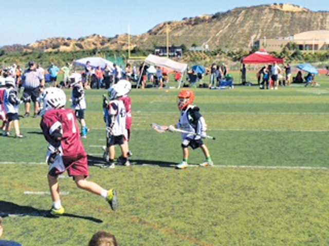 U9 Wildcats join  in regional Lacrosse Jamboree Day