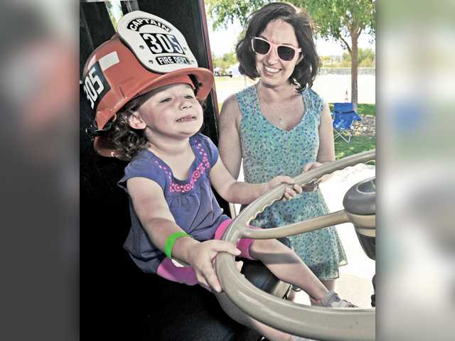 Touch-A-Truck visitors can post photos to win prizes