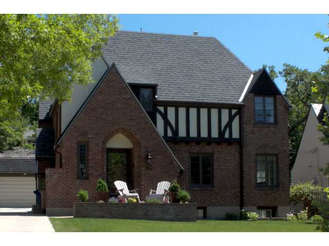 Tudors or craftsman home styles offer a lot