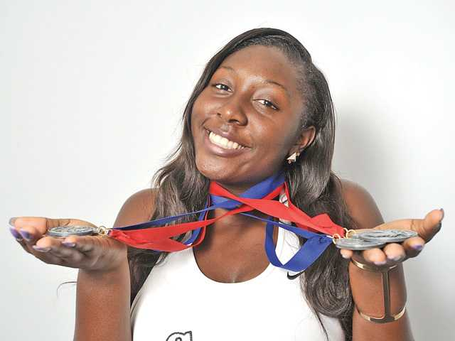 2015 All-SCV Girls Track and Field Team