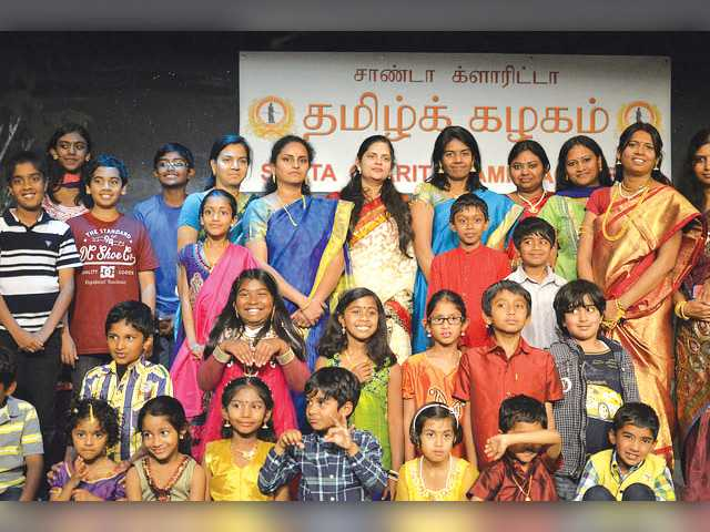 Tamil academy celebrates with inaugural event