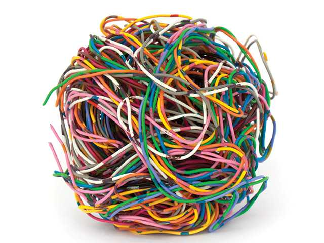 Robert Lamoureux: Dealing with a big ball of wiring