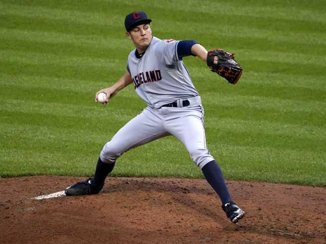 Hart grad Bauer returns to form in Indians win
