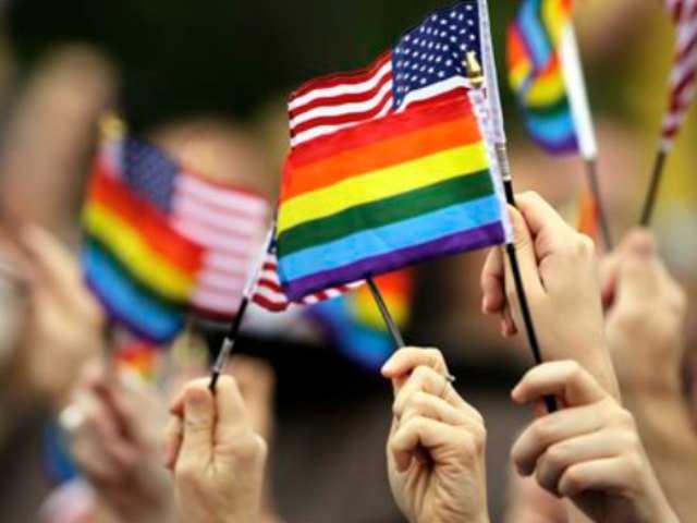 Gay rights activists mark landmark 1965 demonstration