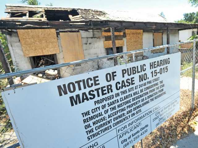 Historic Newhall property faces demolition following fire