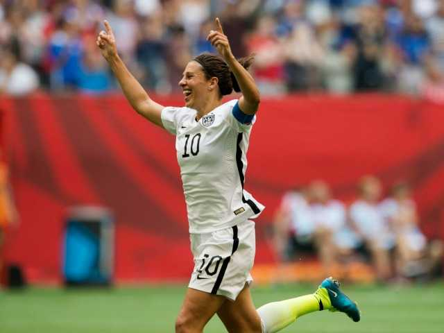 Lloyd scores 3 and US defeats Japan 5-2 for World Cup title