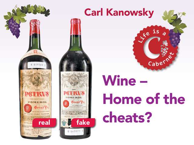 Wine – Home of the cheats?