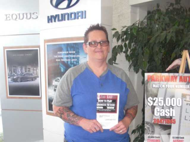 Local dealership hands out $25,000 contest prize