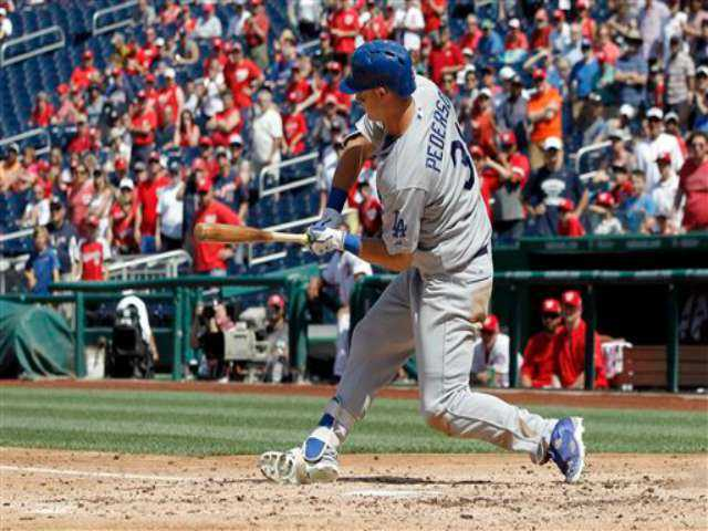 Nationals defeat Dodgers 5-3 in completion of suspended game