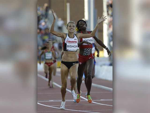 Canyon grad takes 2nd in 800m at Pan Am Games