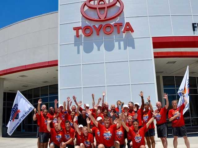 Toyota Motor Sales gives $100K+ to Special Olympics