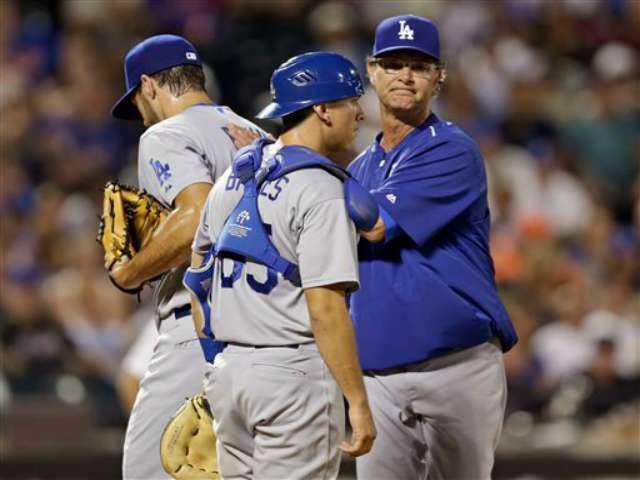 Rookie Conforto, newcomer Johnson help Mets rout Dodgers
