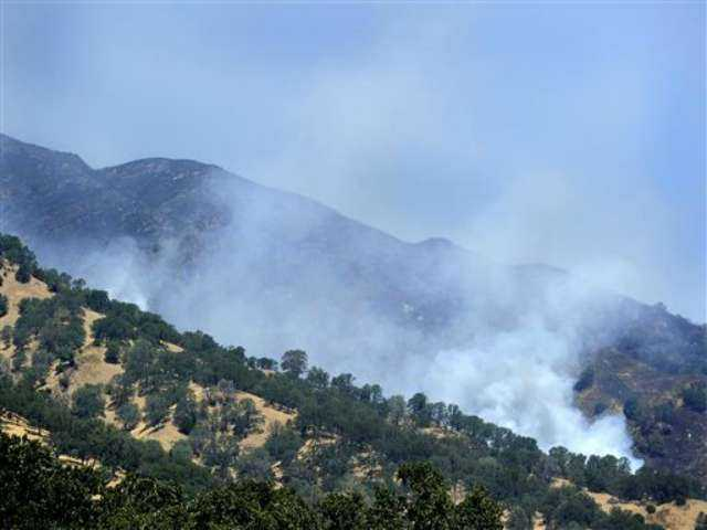 Evacuations, road closures lifted in fire near Napa Valley