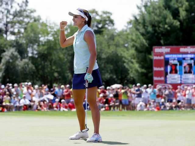 Lexi Thompson rallies to win Meijer LPGA Classic in Michigan