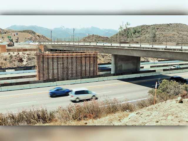 Construction closures scheduled for Highway 14, Golden Valley Road bridge