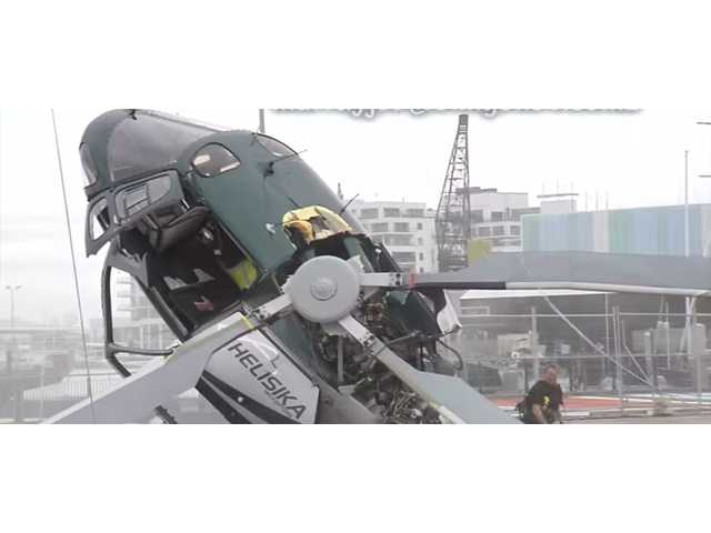 Have You Seen This? Insane helicopter crash