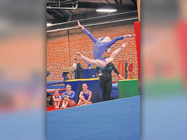 SCV gymnast takes national stage
