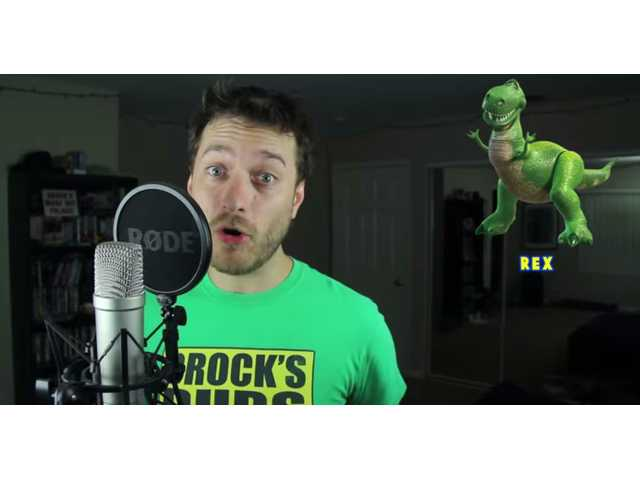 Have You Seen This? Man gives his own twist to Pixar impressions