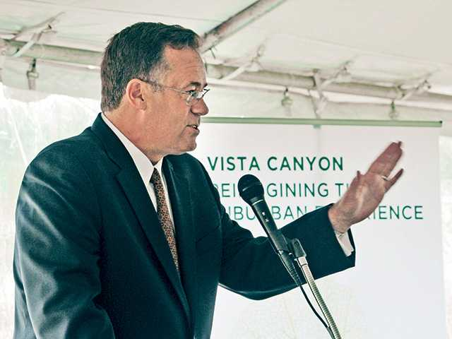Officials Break Ground on Planned Canyon Country Development