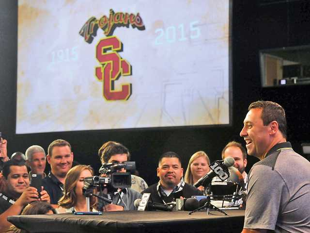 USC football welcoming the hype at Media Days