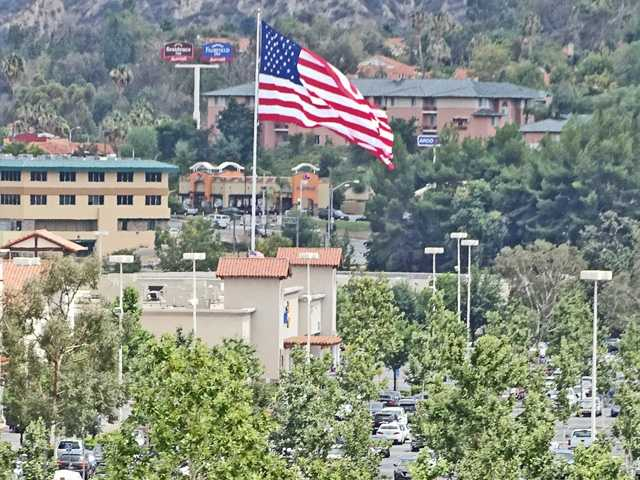 Stars and stripes in the SCV skyline