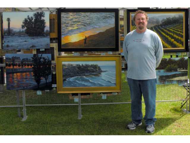 David Wolfram demo - Oil Painting