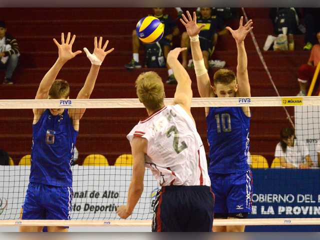 Valencia grad shines again in US loss at international V-ball tourney