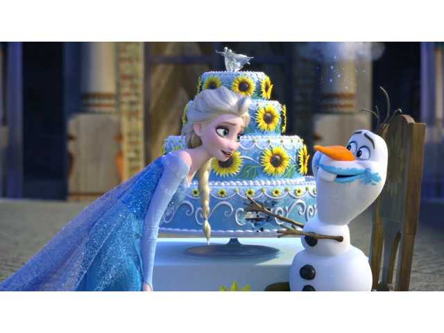 'Frozen Fever' leads new Disney cartoon collection on Blu-ray this week
