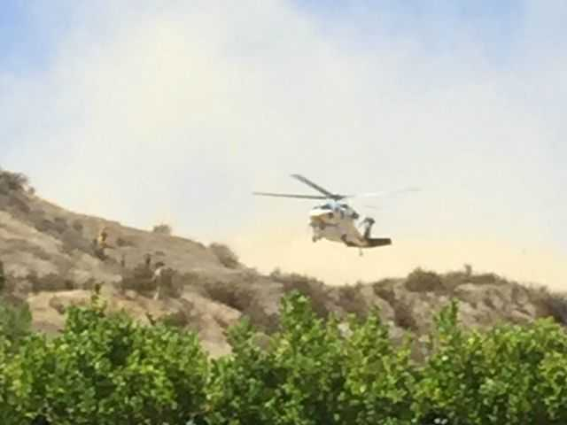UPDATE: Hiker rescued following injuries suffered in Castaic